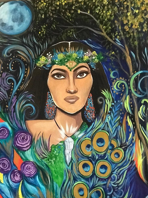 Earth Goddess, Acrylic Print