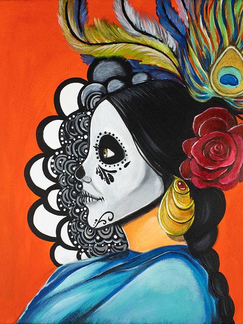 La Princesa, Acrylic Print