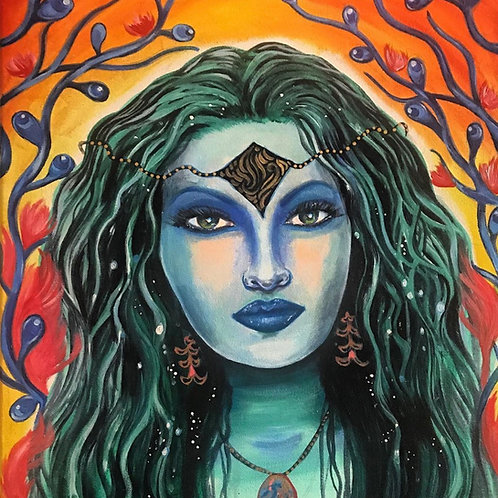 Water Goddess, Acrylic Print