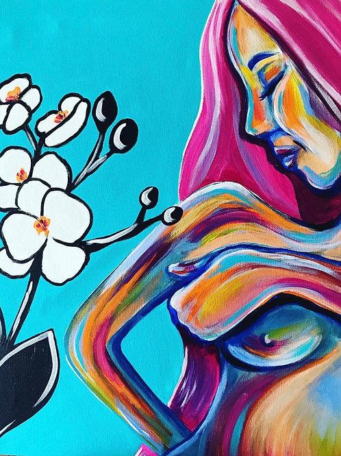 Life Creates Life, Acrylic Print