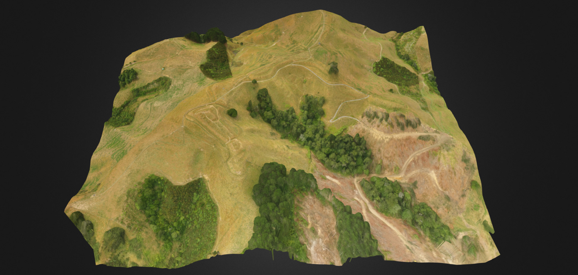 3D scan of archeological site to produce 3D Point cloud map