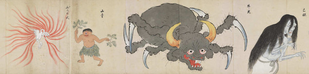 "Section from the Bakemono Zukushi ""Monster Scroll"""
