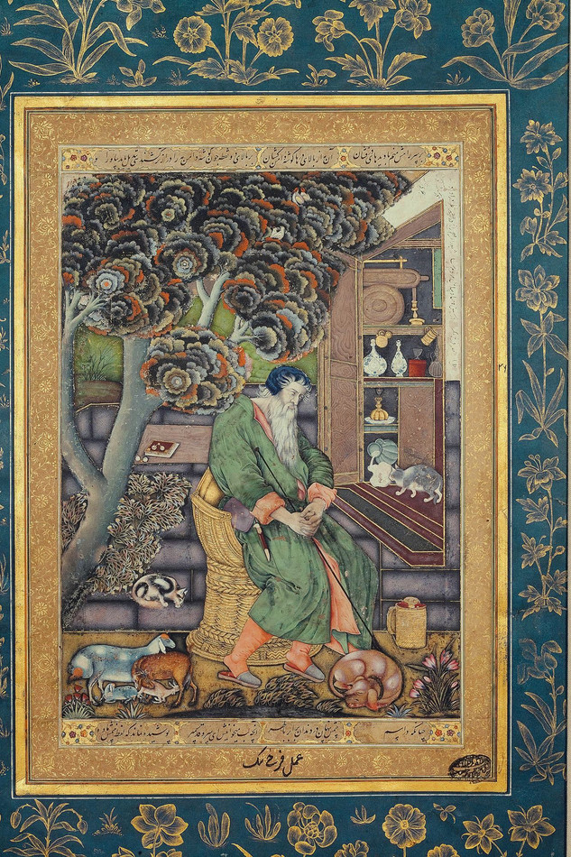 The Mughal St. Jerome