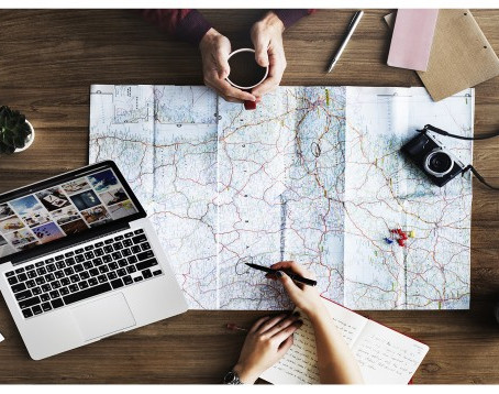 Process of planning a trip