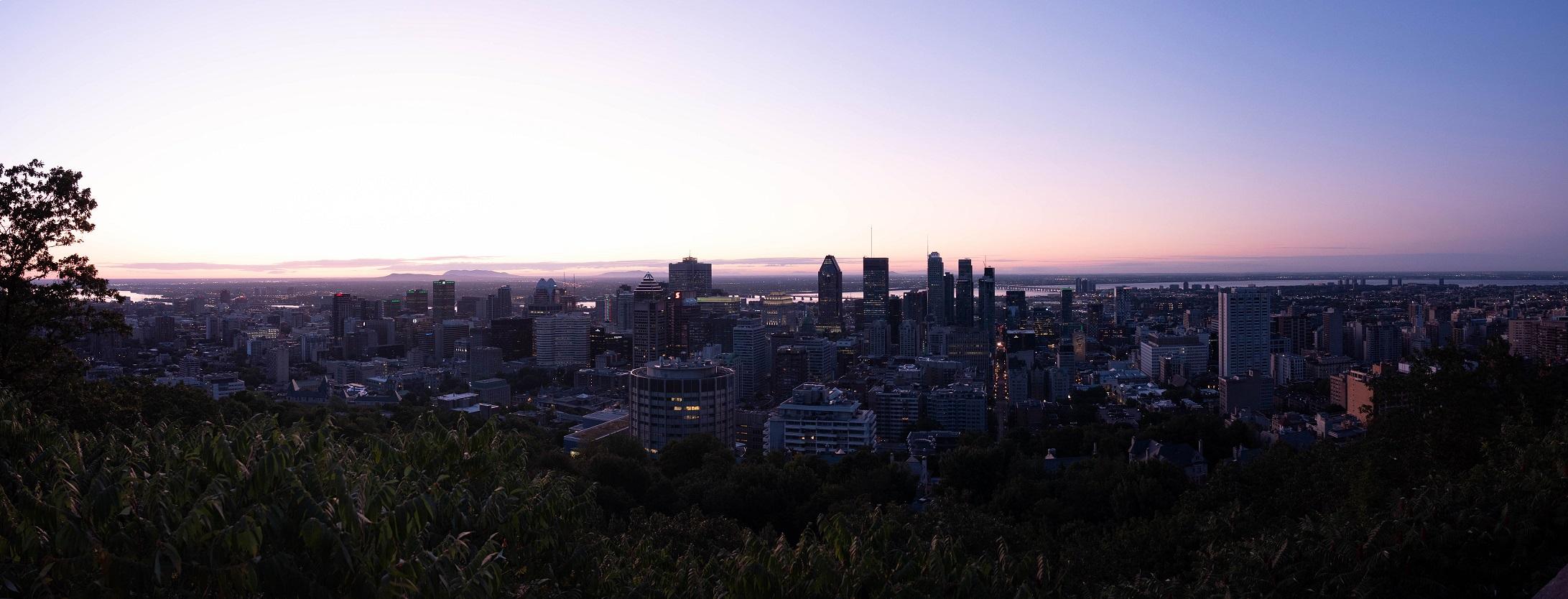 Montreal Sunrise globetrotter alpha
