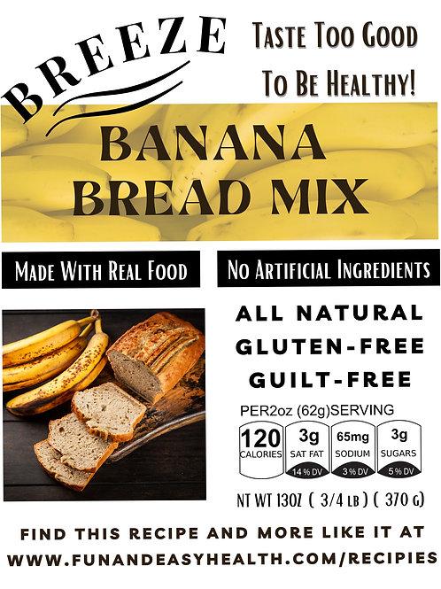 Breeze Banana Bread Mix
