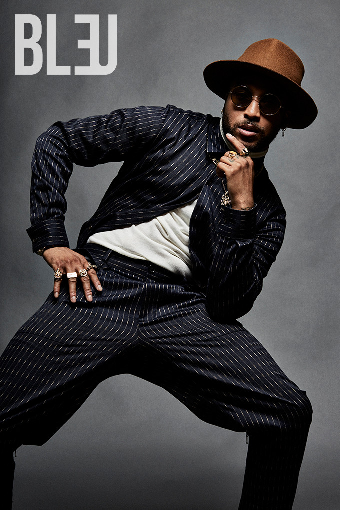 Ro James for Bleu Magazine