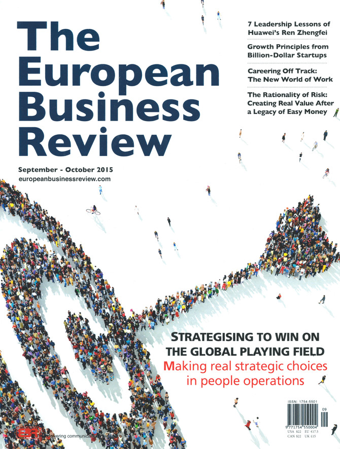 Strategising to Win on the Global Playing Field: Making Real Strategic Choices in People Operations