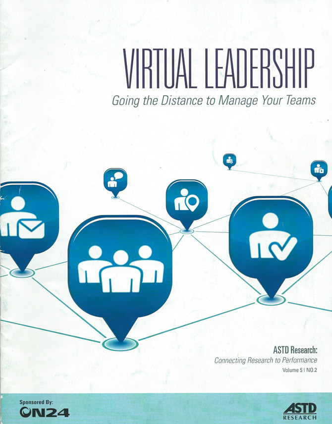 Virtual Leadership: Going the Distance to Manage Your Teams