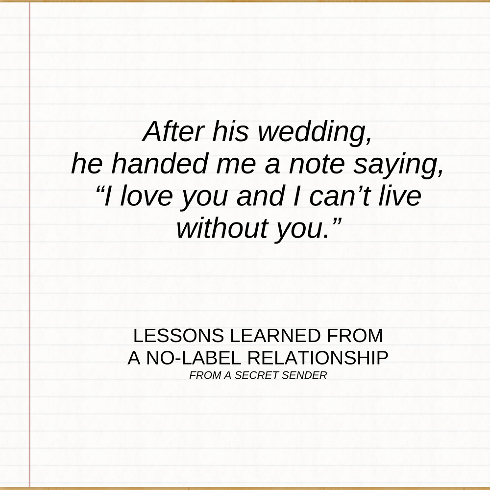 "Lessons Learned from a ""No Label"" Relationship"