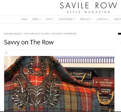 Lady Row Savvy on the Row