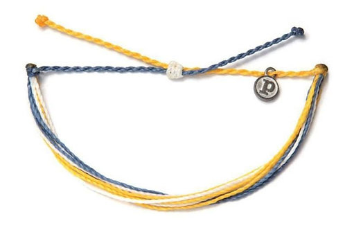 Pura Vida Colon Cancer Awareness Bracelet