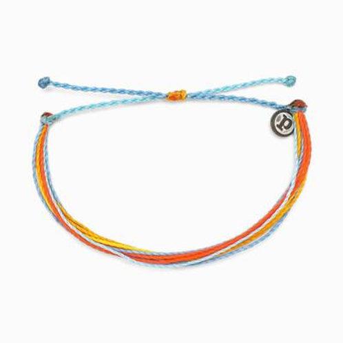 Pura Vida Citrus Surfline Bracelet