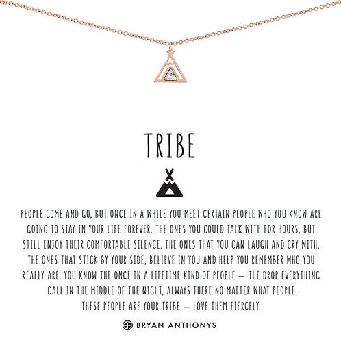 "Bryan Anthonys ""Tribe"" Rose Gold Necklace"