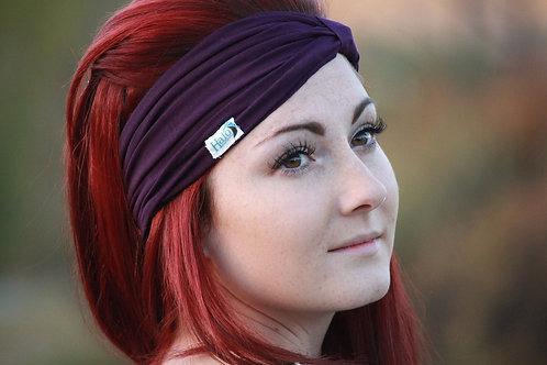 Halo Headband Purple Adult Full Width
