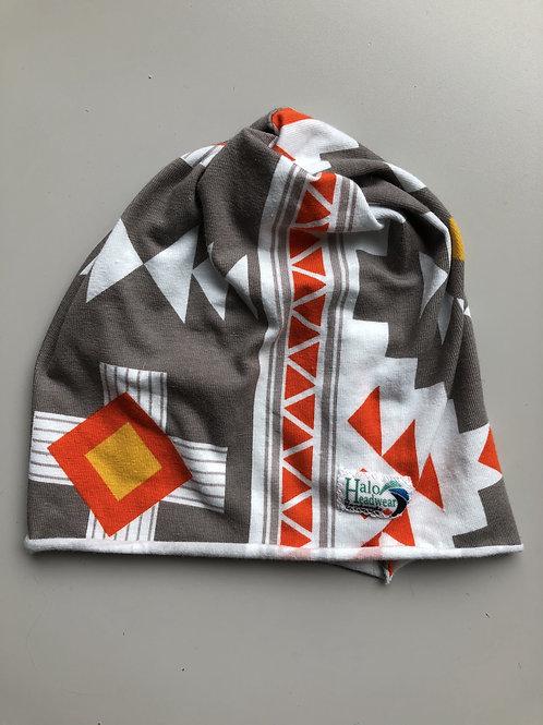 Halo Infant Hat Grey Aztec