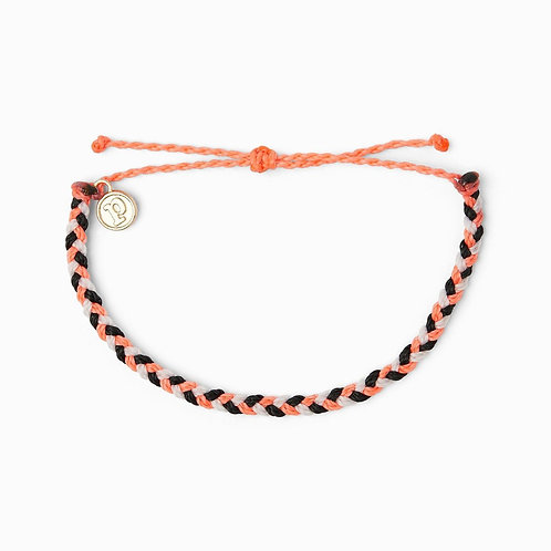 Pura Vida Mini Braided Electric Boho Bracelet