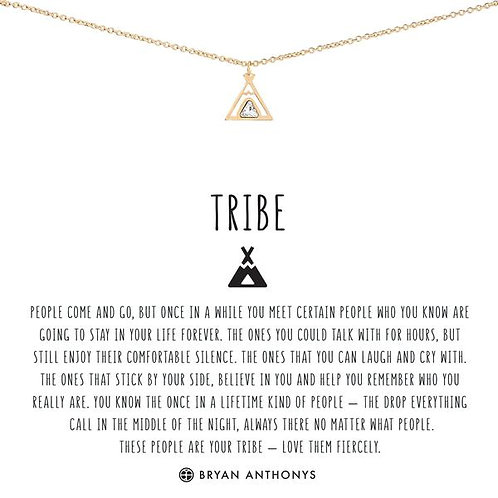 "Bryan Anthonys ""Tribe"" Gold Necklace"