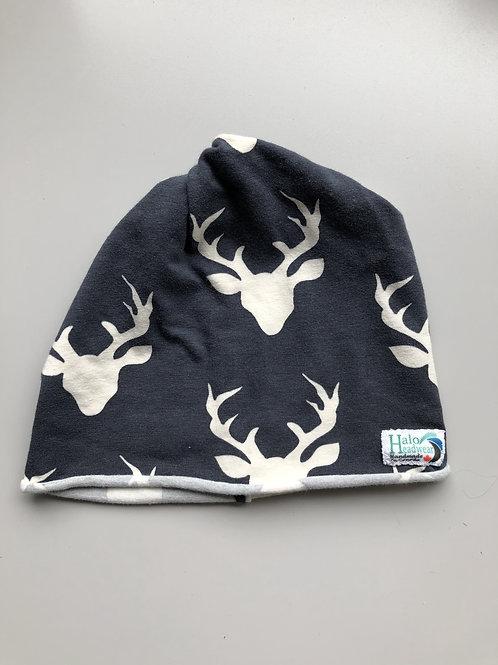 Halo Infant Hat Blue Deer