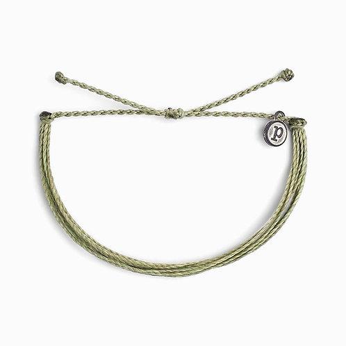 Pura Vida Olive Bracelet