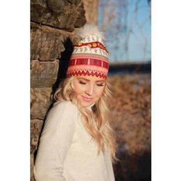 Halo Indian Summer Pom Pom Hat