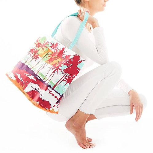 "Printed Village ""Tropic Summer"" Tote Bag"