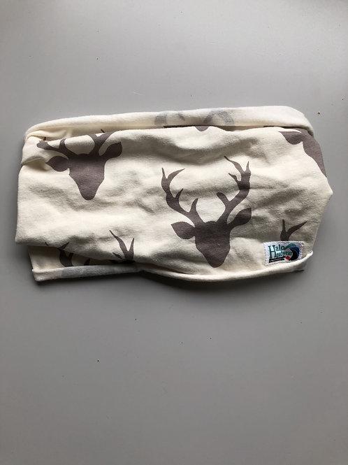 Halo Headband White Deer Adult Full Width