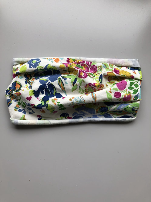 Halo Headband Watercolor Floral Adult Full Width