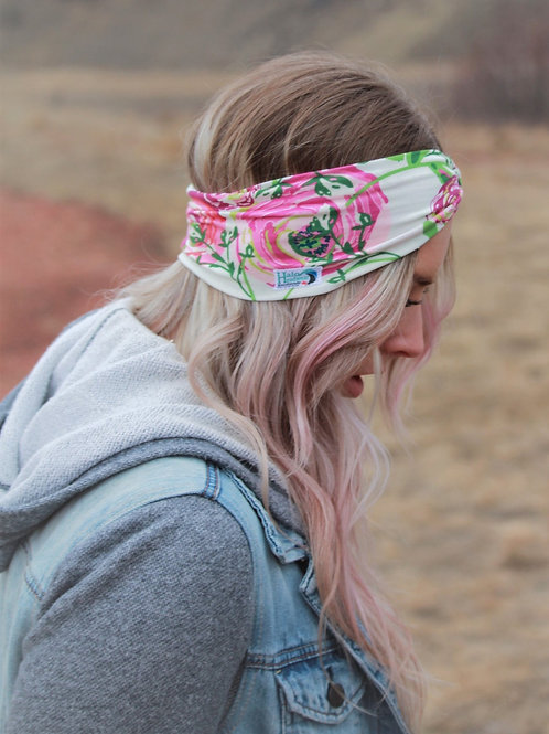 Halo Headband Whimsical Rose Adult Full Width