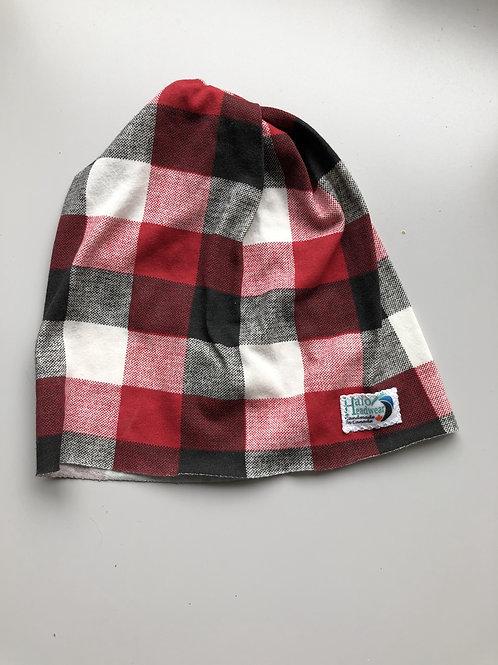 Halo Infant Hat Buffalo Plaid