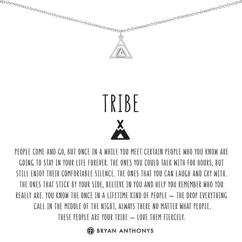"Bryan Anthonys ""Tribe"" Silver Necklace"