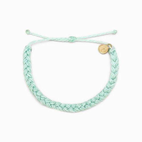 Pura Vida Braided Seafoam Bracelet