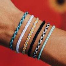Pura Vida Mini Braided White Bracelet