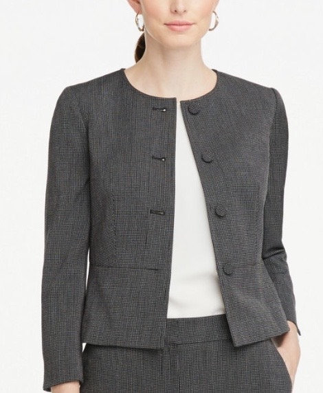 Ann Taylor Dark Gray