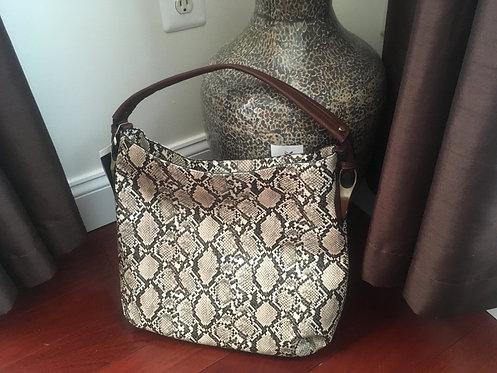 Chevron Brown Women's Handbag