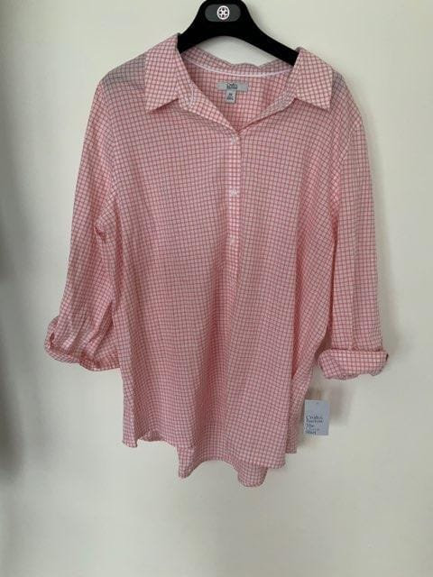Checked Pink Dress Shirt