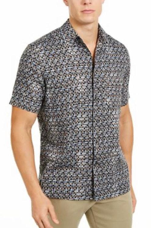 Mens Criscross Print Shirt