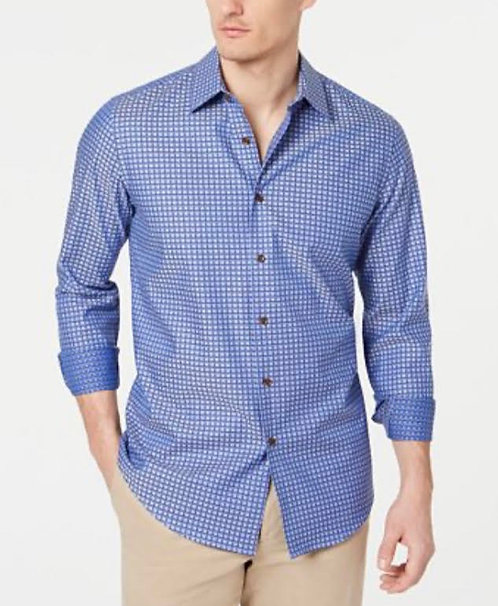 Deep Sea Blue Mens Casual Shirt
