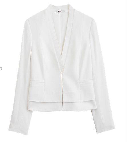 Carlisle Winter White Size 8 & 14 Blazer