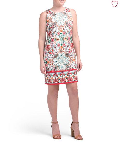 London Times Rich Summer Dress