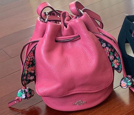 Pink Coach  Petal handbag