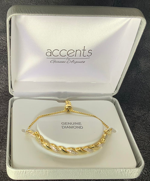 Gold and Silver Braclet