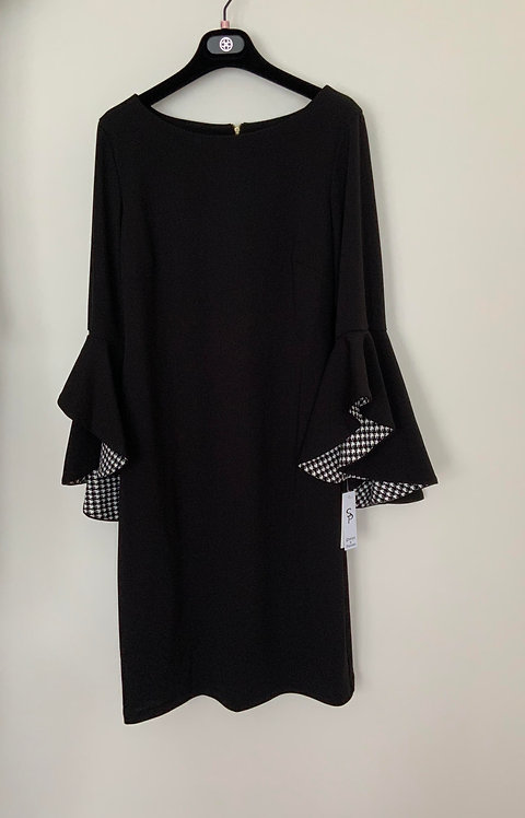 Shelby & Palmer Black dress with Bell Sleeves