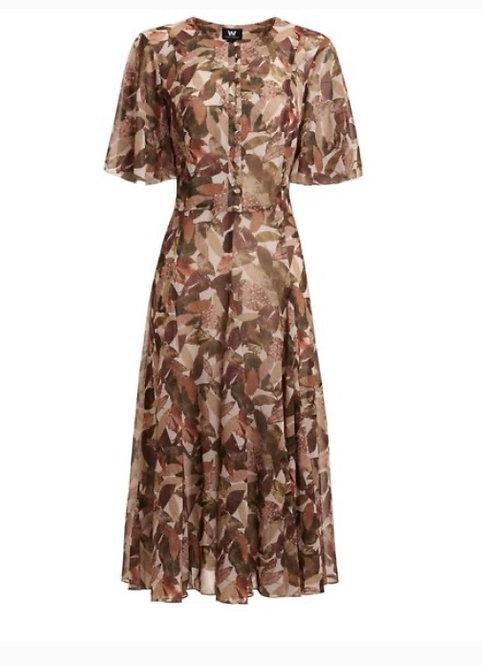 Worth NY Vintage Print Dress