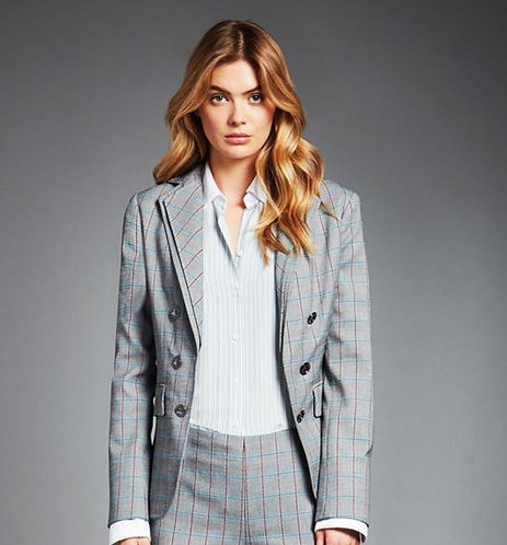 Carlisle  Pants Suit (Solid Burgundy Pants)