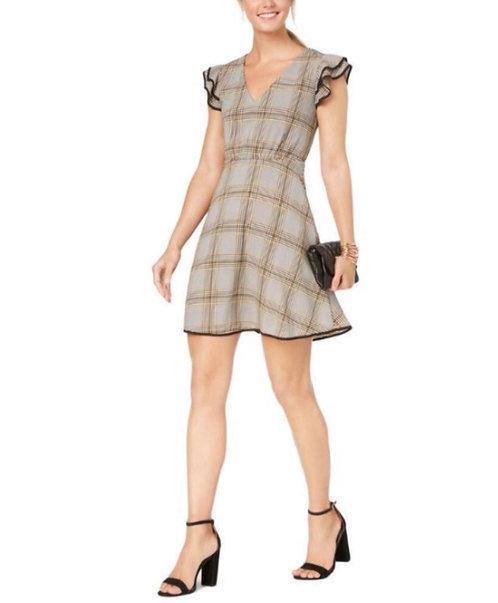 I9 Cooper Party Plaid Dress