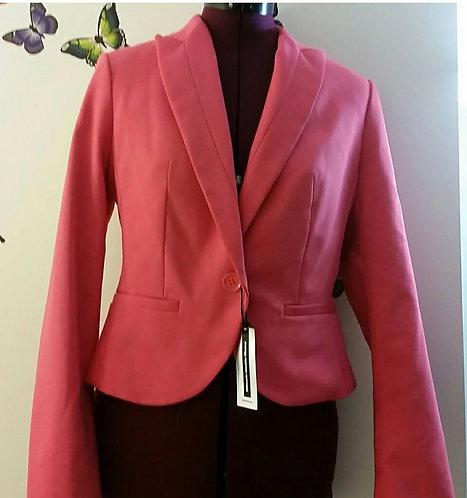 Ann Taylor Pink Business Blazer