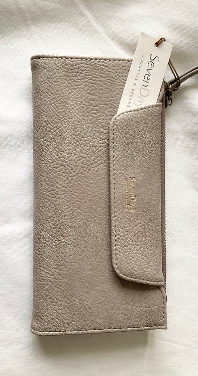 Seven Day women's Tan wallet