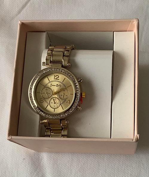 Crystal loop watch