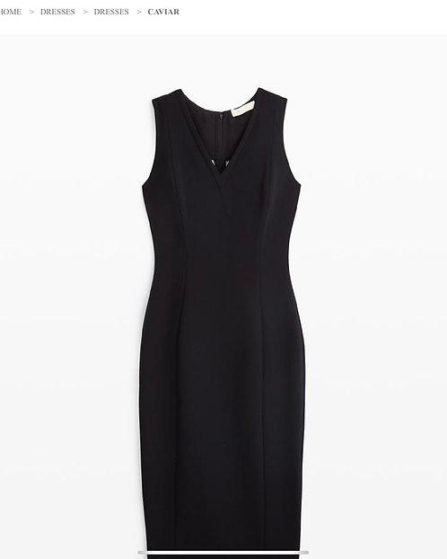 Carlisle Black Sleeveless Dress